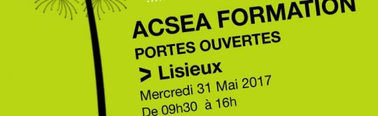ACSEA Formation organise ses portes ouvertes