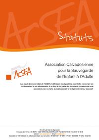Les statuts de l'ACSEA, ressource