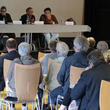 Le conseil d'administration à l'assemblée générale 2016