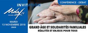 Grand âges et solidarités familiales